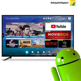 CloudWalker Cloud TV 50SF 50 inch (127 cm) Full HD Smart LED TV