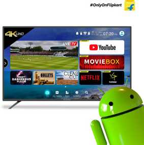 CloudWalker Cloud TV 50SU 50 inch (127 cm) Ultra HD 4K Smart Gaming LED TV