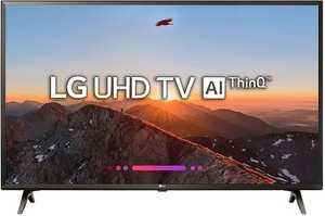 LG AI Thinq 49UK6360PTE 49 inch (124 cm) Ultra HD 4K HDR Pro Smart LED TV