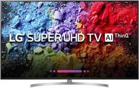 LG AI ThinQ 75SK8000PTA 75 inch (190 cm) Ultra HD 4K HDR Pro + Dolby Vision Ultra-slim Smart LED TV