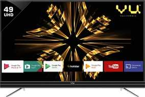 Vu 49SU131 49 inch (124 cm) Ultra HD 4K HDR Android Smart LED TV