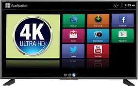 Mitashi MiDE043v10 42.5 inch (107 cm) Ultra HD 4K HDR Ultra-slim Android Smart LED TV