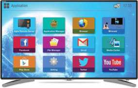 Mitashi MiDE043v20 42.5 inch (107 cm) Full HD Android Smart LED TV