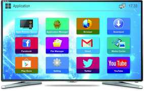 Mitashi MiDE050v02-FS 50 inch (127 cm) Full HD Android Smart LED TV