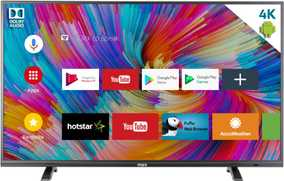 MarQ 43SAUHD 43 inch (109 cm) Ultra HD 4K Android Smart Gaming LED TV