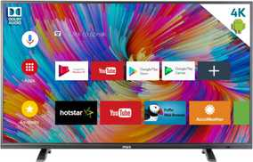 MarQ 49SAUHD 49 inch (124 cm) Ultra HD 4K HDR Android Smart Gaming LED TV