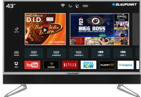Blaupunkt BLA43AU680 43 inch (109 cm) Ultra HD 4K Android Smart Gaming LED TV