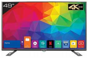 Kevin KN49UHD 49 inch (124 cm) Ultra HD 4K Android Smart Gaming LED TV