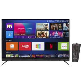 Shinco S55QHDR10 55 inch (139 cm) Ultra HD 4K Android Smart Gaming LED TV