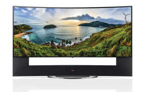 LG 105UC9T 105 inch (266 cm) Ultra HD 4K HDR Smart Curved LED TV