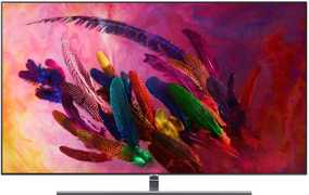 Samsung Series Q QE75Q7FNATXXU 75 inch (190 cm) Ultra HD 4K HDR Android Smart Curved QLED TV