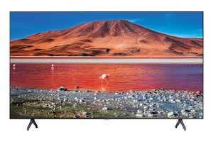 Samsung Series 7 UA55TU7200KXXL 55 inch (140 cm) Ultra HD 4K LED HDR 10 Plus Crystal Display Gaming Android Smart TV