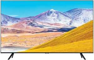 Samsung UHD 8 Series UN43TU8000FXZA 43 inch (109 cm) Ultra HD 4K LED HDR Crystal Display Gaming Android Smart TV