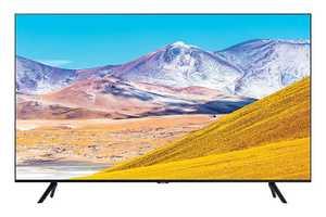 Samsung Series 8 UA55TU8000KXXL 55 inch (140 cm) Ultra HD 4K LED HDR 10 Plus Crystal Display Gaming Android Smart TV
