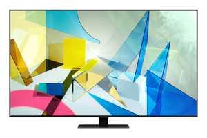 Samsung Series 8 QA55Q80TAKXXL 55 inch (140 cm) Ultra HD 4K QLED Quantum HDR 12x Gaming Android Smart TV