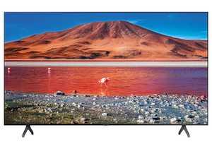 Samsung Series 7 UA43TU7200KBXL 43 inch (109 cm) Ultra HD 4K LED HDR 10 Plus Crystal Display Gaming Android Smart TV