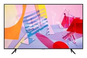 Samsung Series 6 QA55Q60TAKXXL 55 inch (140 cm) Ultra HD 4K QLED Quantum HDR Gaming Android Smart TV