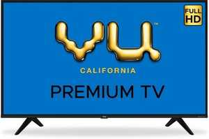 VU Premium Series 43US 43 inch (109 cm) Full HD LED Android Smart TV