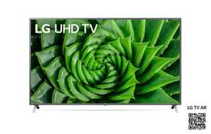 LG UN80 Series 75UN8000PTB 75 inch (191 cm) Ultra HD 4K LED HDR 10 Pro Gaming Android Smart TV