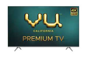 VU Premium Series 50PM 50 inch (127 cm) Ultra HD 4K DLED HDR 10 Plus Android Smart TV