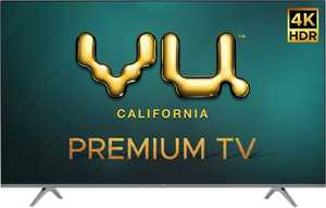 VU Premium Series 43PM 43 inch (109 cm) Ultra HD 4K DLED HDR 10 Plus Android Smart TV