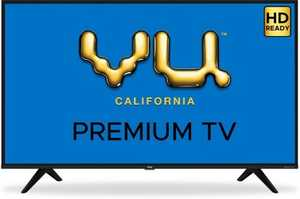 VU Premium Series 32US 32 inch (81 cm) HD Ready LED Android Smart TV