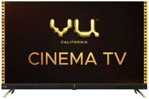 VU Cinema Series 55CA 55 inch (140 cm) Ultra HD 4K DLED HDR 10 Pixel Glass Android Smart TV