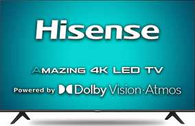 Hisense A71F Series 43A71F 43 inch (109 cm) Ultra HD 4K LED HDR 10 Gaming Android Smart TV