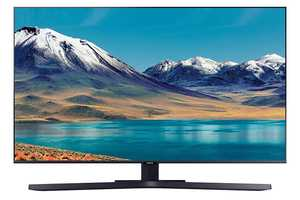 Samsung Series 8 UA55TU8570UXXL 55 inch (139.70 cm) Ultra HD 4K LED HDR 10 Plus Crystal Display Gaming Android Smart TV