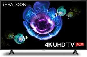 iFFALCON K61 Series 43K61 43 inch (109.22 cm) Ultra HD 4K HDR 10 CSOT Panel LED Hands Free Voice Control Gaming Smart TV