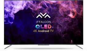 iFFALCON H71 Series 55H71 55 inch (139.70 cm) Ultra HD 4K HDR 10 Plus VA Panel QLED Ultra-Slim AI Gaming Smart TV