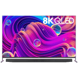 TCL X915 Series 75X915 75 inch (190.50 cm) Ultra HD 8K QLED Pop-up Camera AI Smart TV