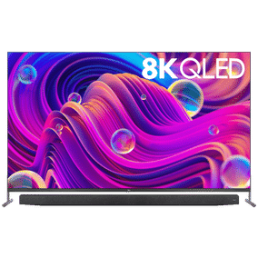 TCL X915 Series 75X915 75 inch (190.50 cm) Ultra HD 8K QLED Pop-up Camera AI Smart TV