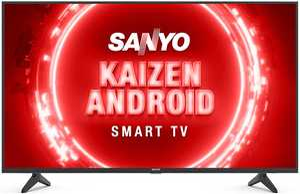 Sanyo Kaizen Series XT-43UHD4S 43 inch (109.22 cm) Ultra HD 4K HDR 10 VA Panel LED Hands Free Voice Control Smart TV