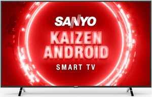 Sanyo Kaizen Series XT-55UHD4S 55 inch (139.70 cm) Ultra HD 4K HDR 10 VA Panel LED Hands Free Voice Control Smart TV