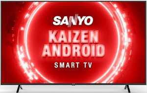 Sanyo Kaizen Series XT-65UHD4S 65 inch (165.10 cm) Ultra HD 4K HDR 10 VA Panel LED Hands Free Voice Control Smart TV