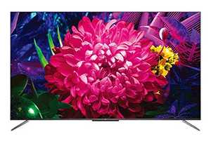 TCL C715 Series 50C715 50 inch (127.00 cm) Ultra HD 4K HDR 10 Plus CSOT Panel QLED Hands Free Voice Control AI Gaming Smart TV
