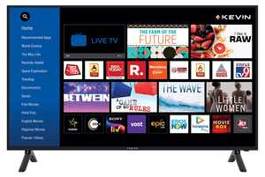 Kevin KN49UHD-PRO 49 inch (124.46 cm) Ultra HD 4K HDR 10 LED Ultra-Slim Smart TV