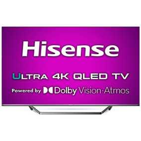 HiSense U7QF Series 65U7QF 65 inch (165.10 cm) Ultra HD 4K HDR 10 Plus QLED Hands Free Voice Control Gaming Smart TV