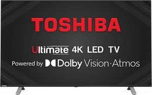 Toshiba U50 Series 43U5050 43 inch (109.22 cm) Ultra HD 4K HDR 10 LED Ultra-Slim AI Gaming Smart TV