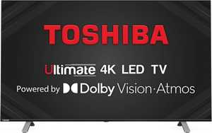 Toshiba U50 Series 55U5050 55 inch (139.70 cm) Ultra HD 4K HDR 10 LED Ultra-Slim AI Gaming Smart TV