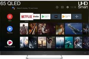 iFFALCON V2A Series 65V2A 65 inch (165.10 cm) Ultra HD 4K HDR Pro VA Panel QLED Hands Free Voice Control Smart TV