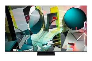 Samsung Series 9 QA75Q950TSKXXL 75 inch (190.50 cm) Ultra HD 8K Quantum HDR 32x QLED Ultra Slim Gaming Smart TV
