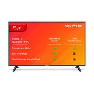 CloudWalker Cloud TV 43SFX3 43 inch (109.22 cm) Full HD LED Built-in PC Mode Gaming Smart TV