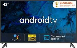 Coocaa 42S6G 42 inch (106.68 cm) Full HD LED AI Smart TV