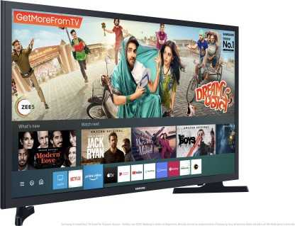 Samsung Series 4 UA32TE40FAKXXL 32 inch (81.28 cm) HD Ready HDR LED Hands Free Voice Control Gaming Smart TV