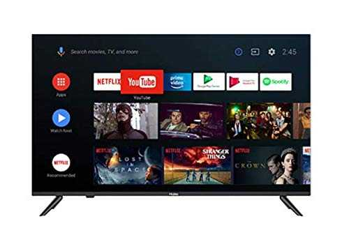 Haier LE40K6600GA 40 inch (101.60 cm) Full HD HDR LED Bluetooth Voice Remote Control Smart TV