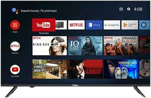 Haier LE43K6600GA 43 inch (109.22 cm) Full HD HDR LED Bluetooth Voice Remote Control Smart TV