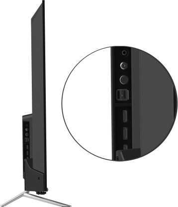 Coocaa 55S3G 55 inch (139.70 cm) Ultra HD 4K HDR 10 LED Eye Care AI Gaming Smart TV
