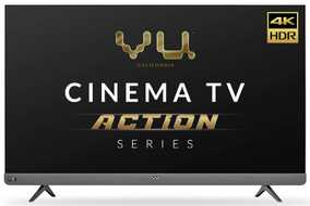 Vu Cinema TV Action Series 55LX 55 inch (140 cm) Ultra HD 4K LED HDR 10 JBL 6 Speaker Smart TV